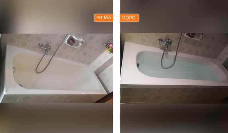 Vasca da bagno sovrapposta